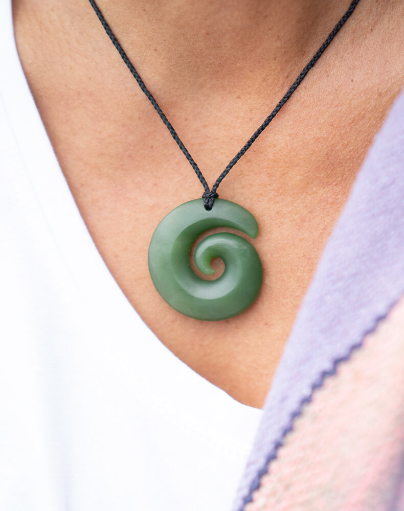 Jade and Greenstone (pounamu), Koru