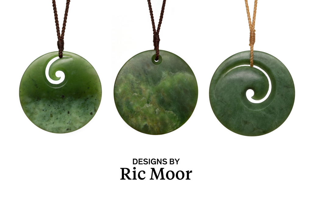 greenstone necklaces by ric moor