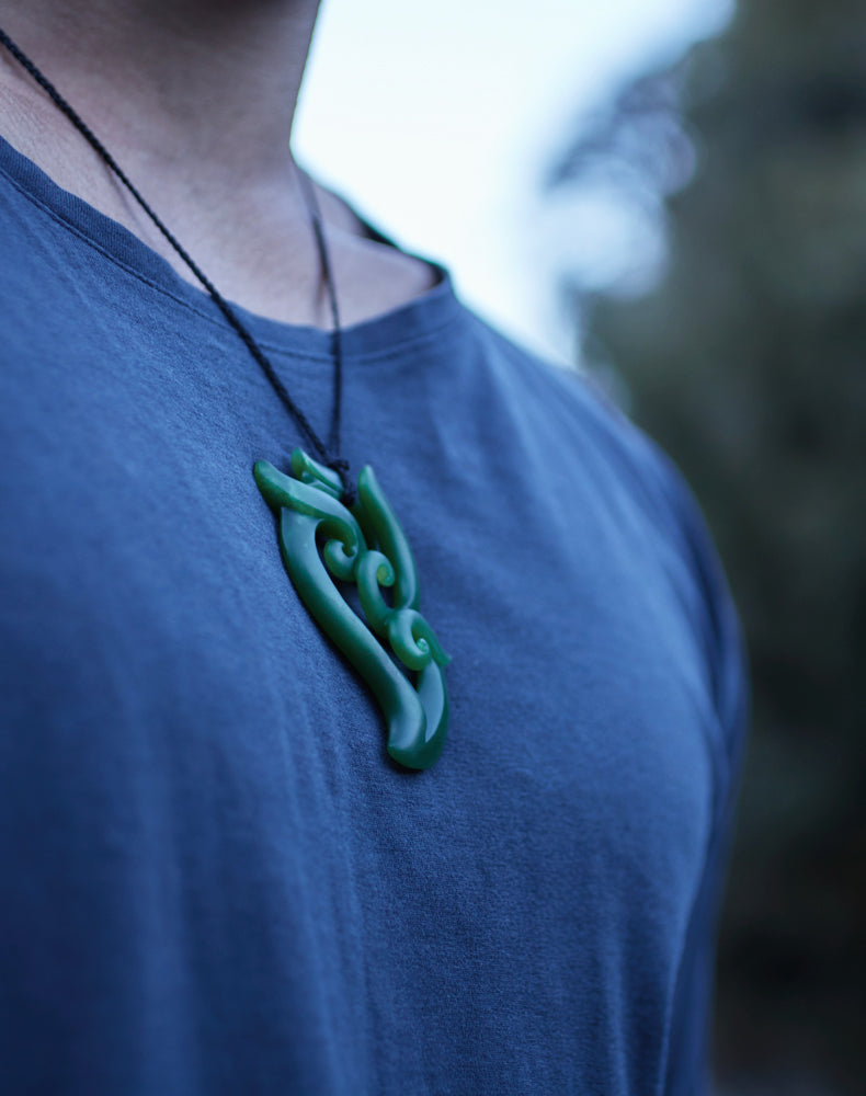 Jade and Greenstone (pounamu), Manaia