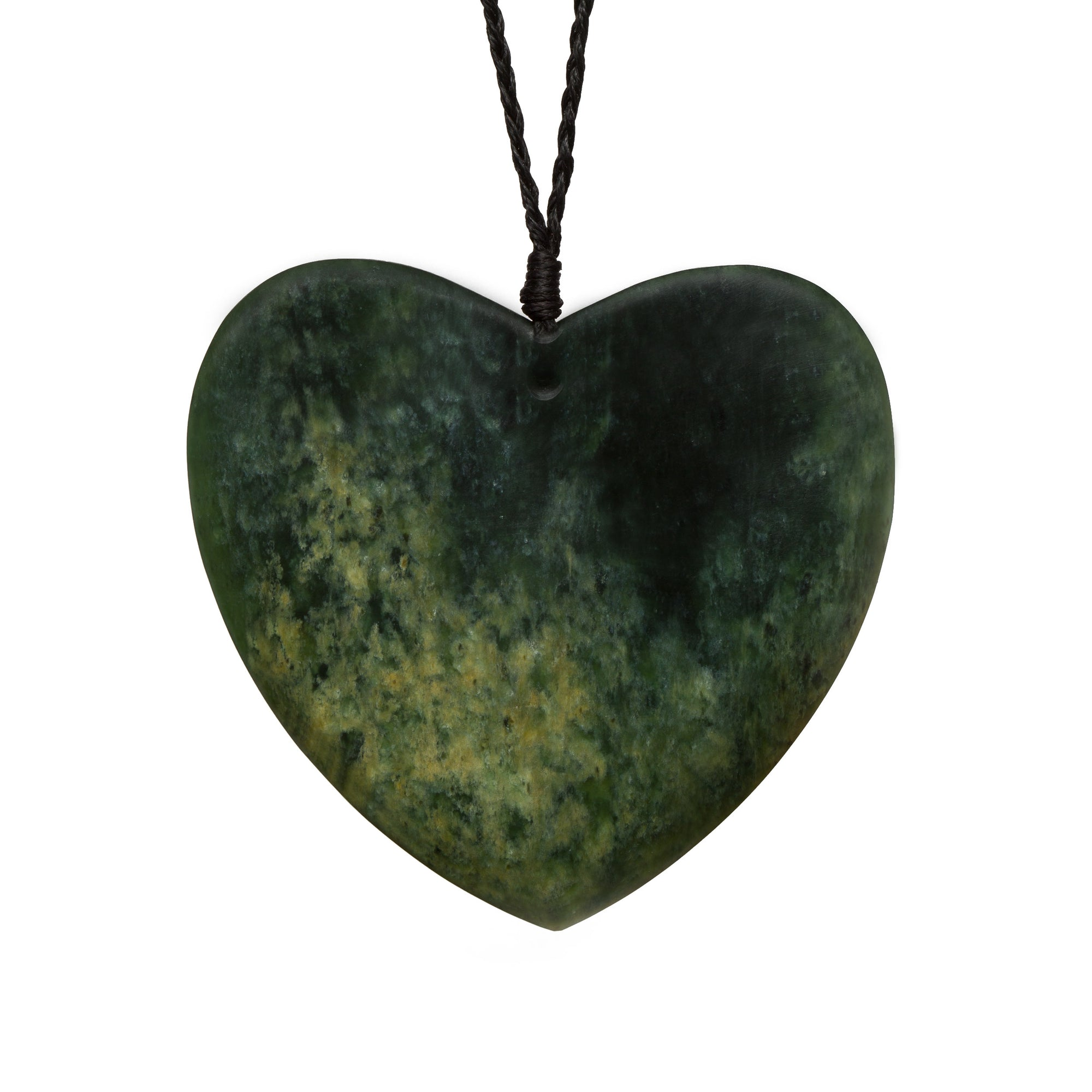 New Zealand Pounamu Large Heart