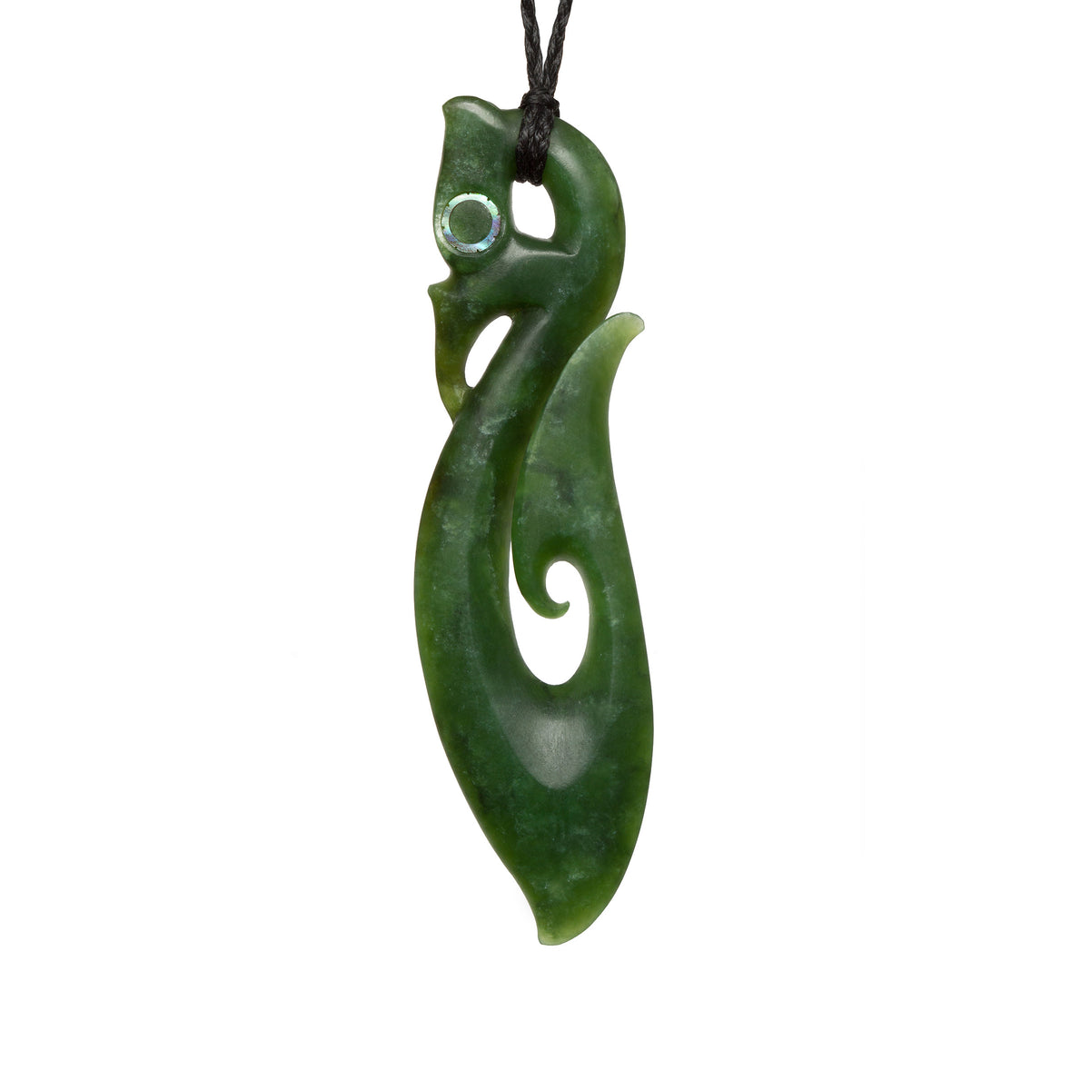 87mm x 22mm / New Zealand Pounamu // AKAMA698P-1