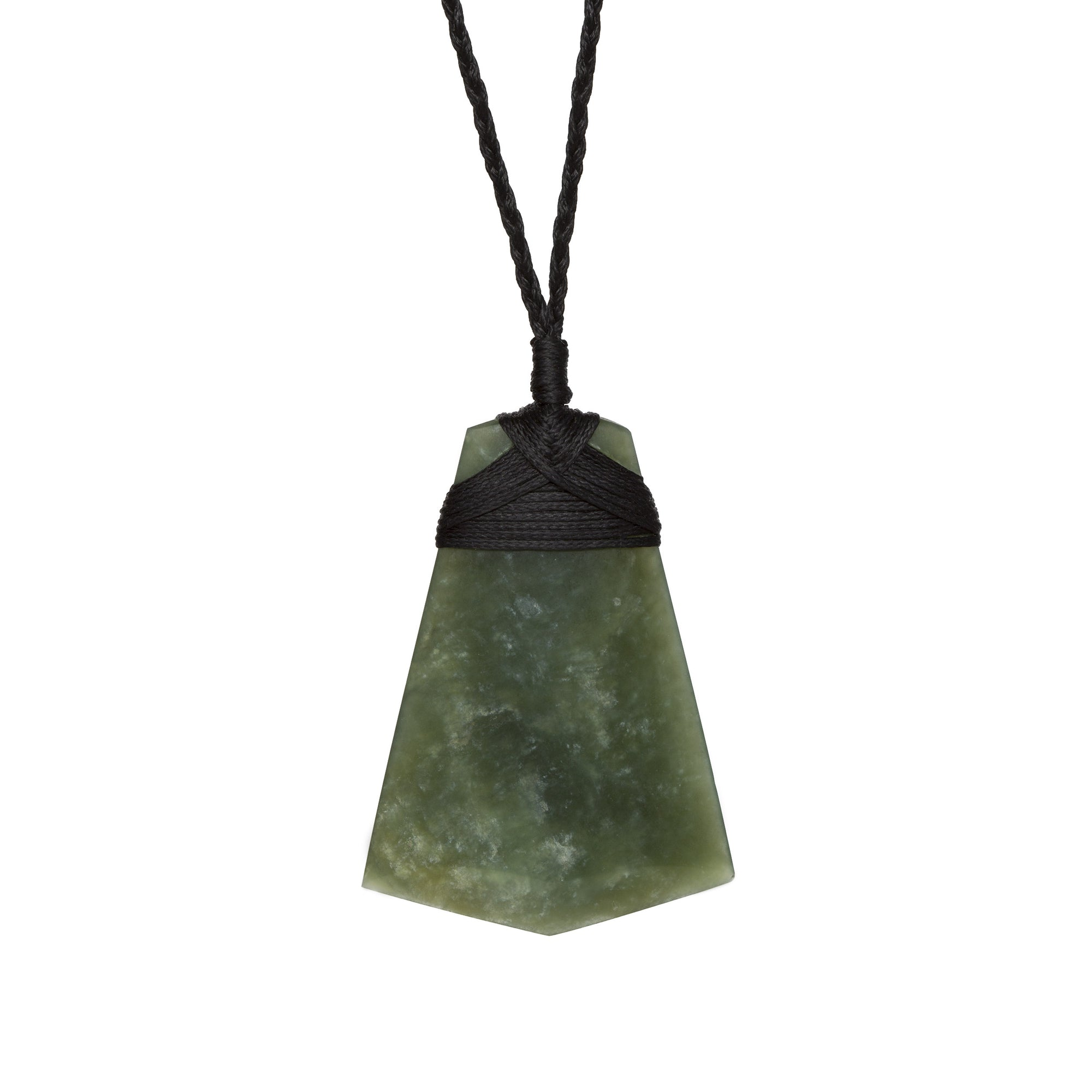 New Zealand Flared Pounamu Toki