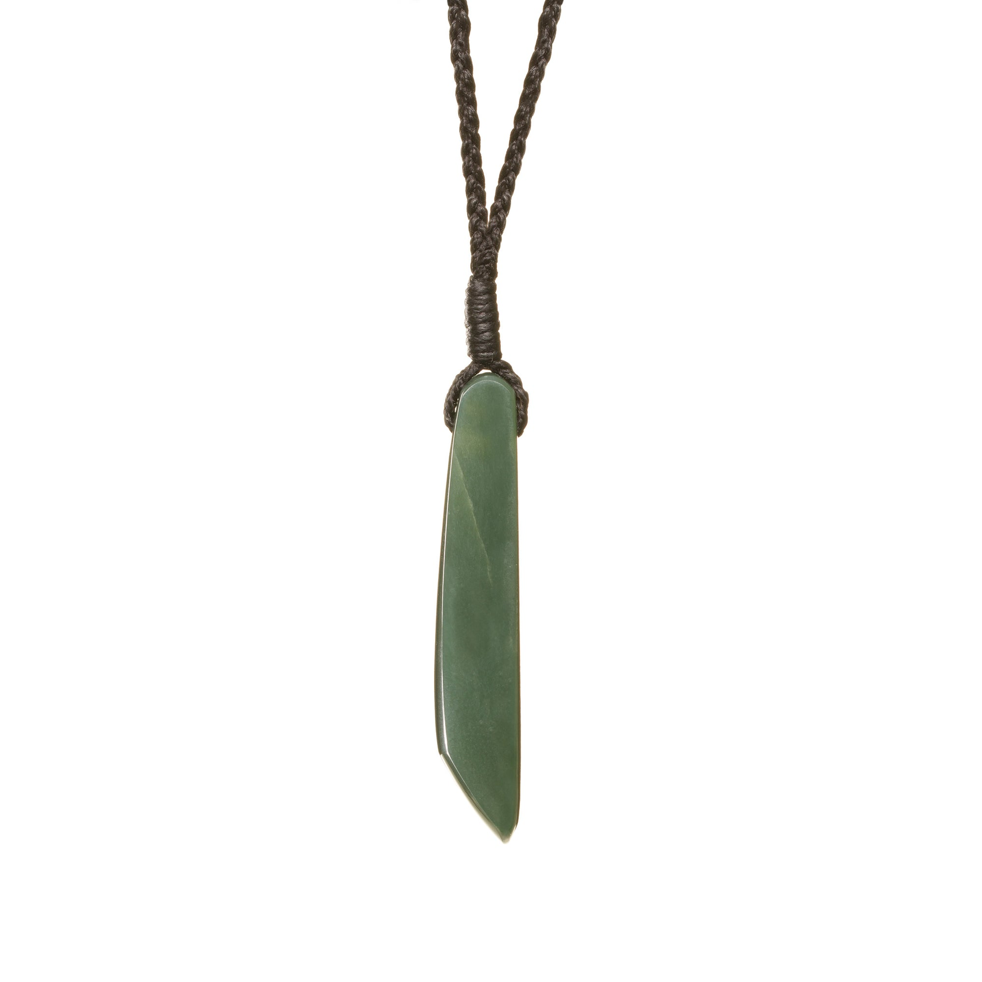 New Zealand Pounamu Contemporary Drop