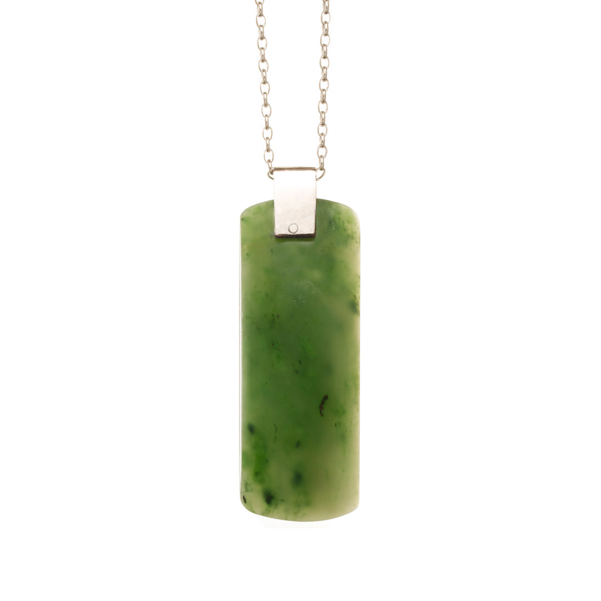 Canadian Jade Rivet Adze Necklace