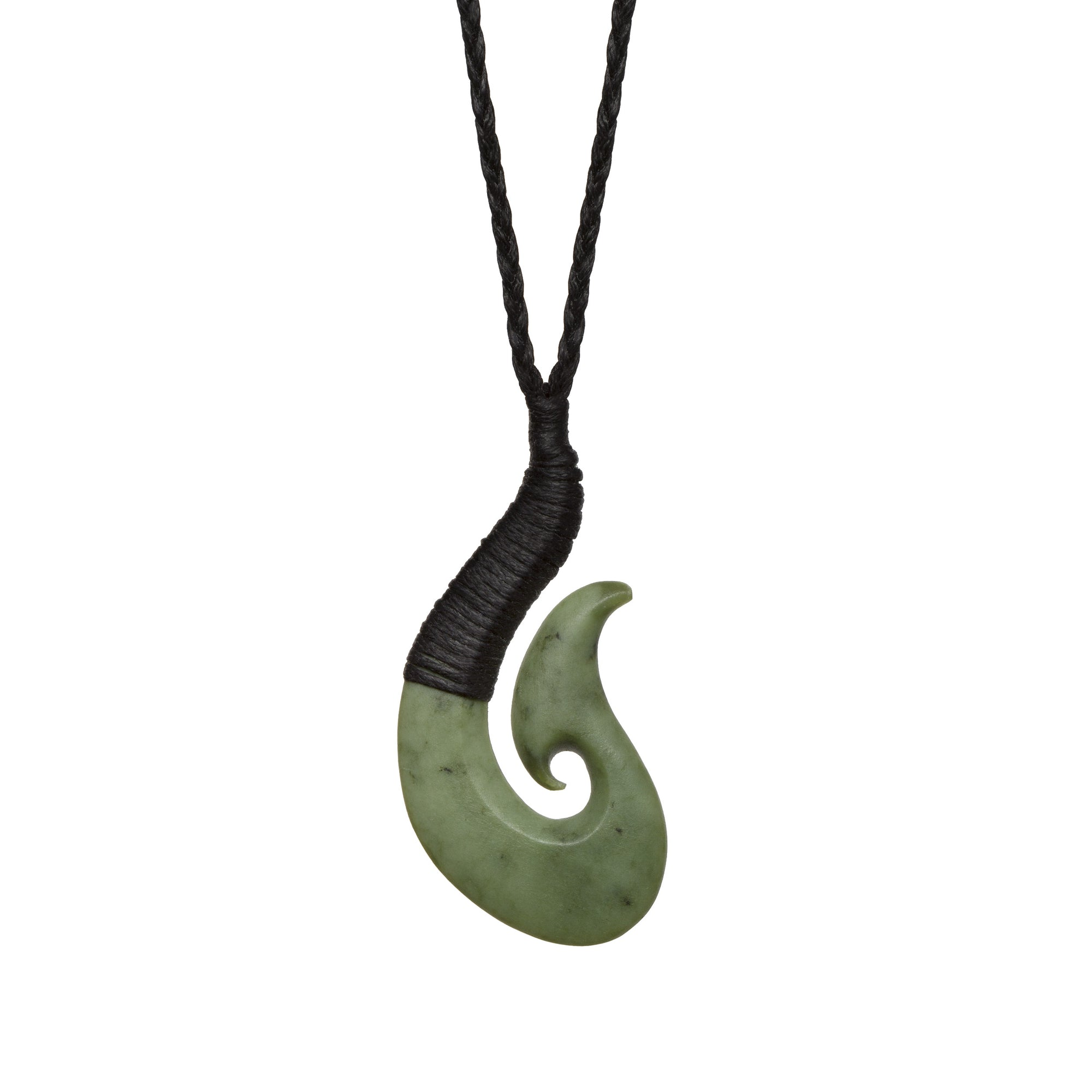 New Zealand Pounamu Bound Hook