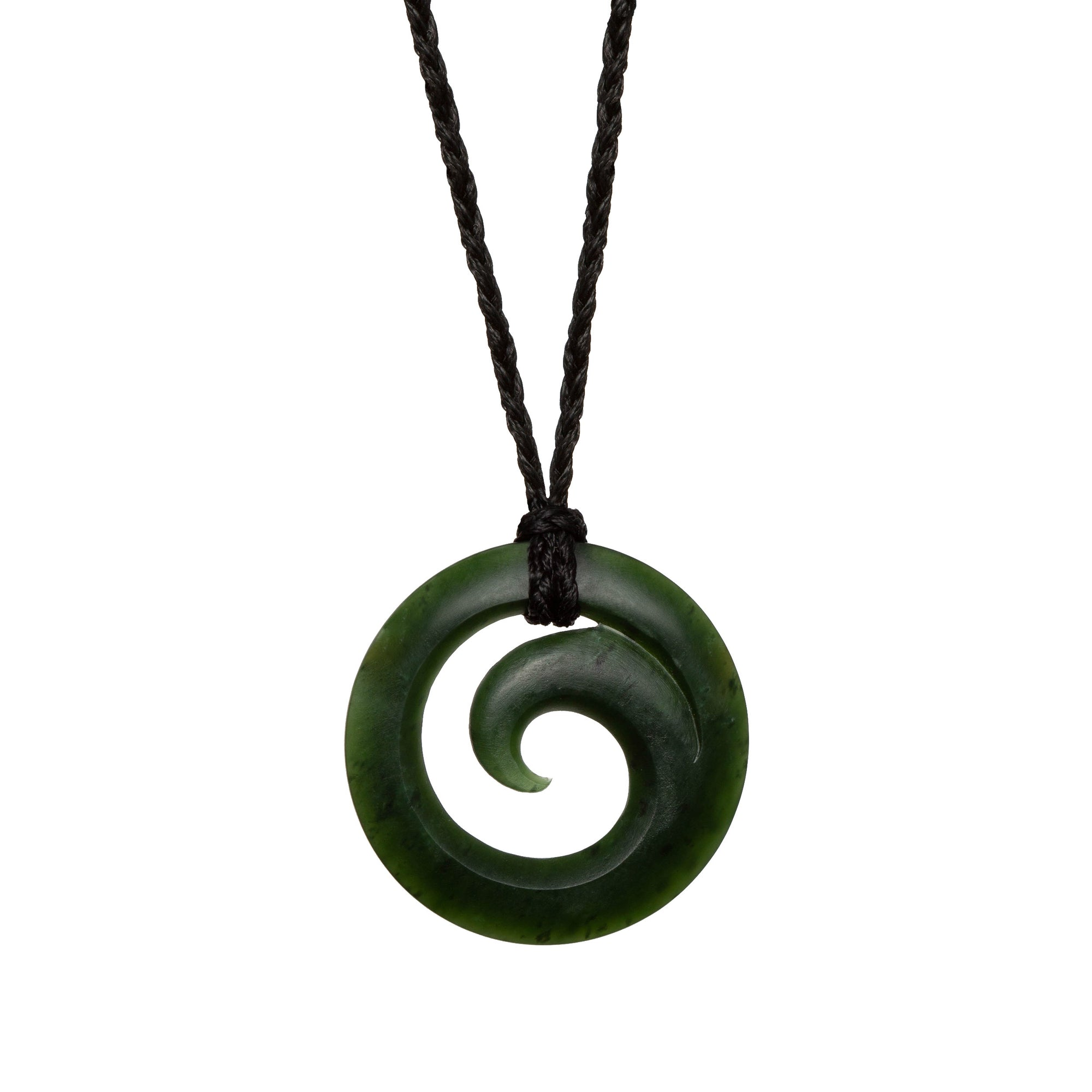 New Zealand Greenstone Koru
