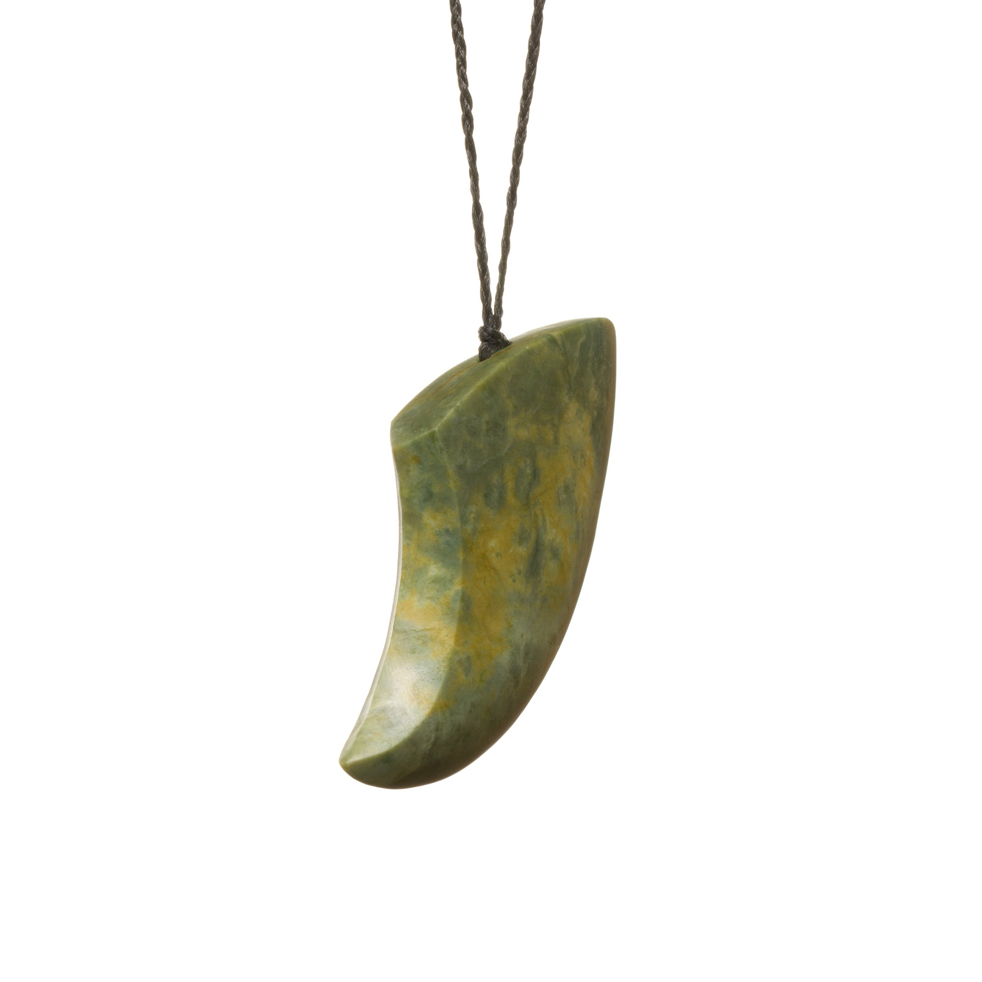 New Zealand Jade Large Shark Tooth Necklace