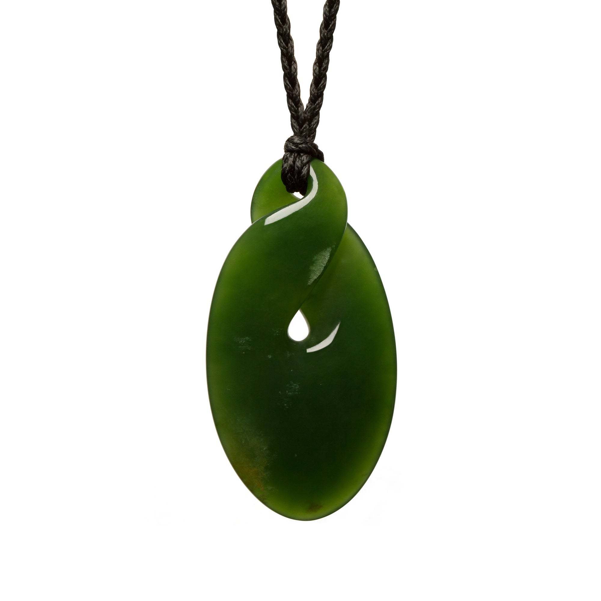 New Zealand Pounamu Contemporary Twist