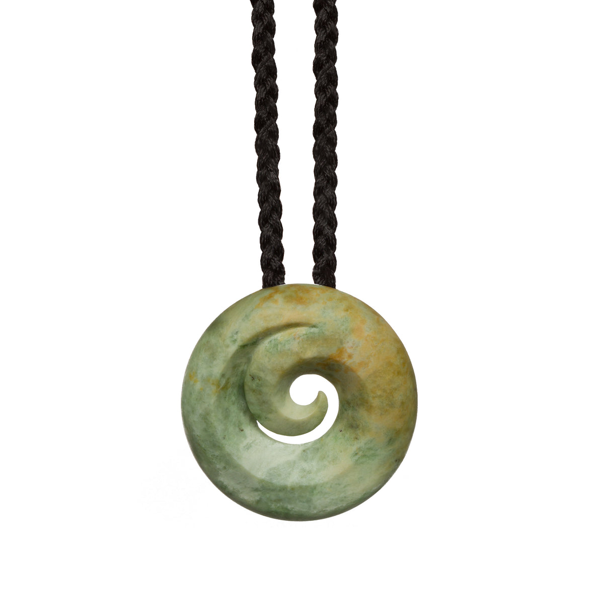 39mm x 38mm / New Zealand Pounamu // JB-001