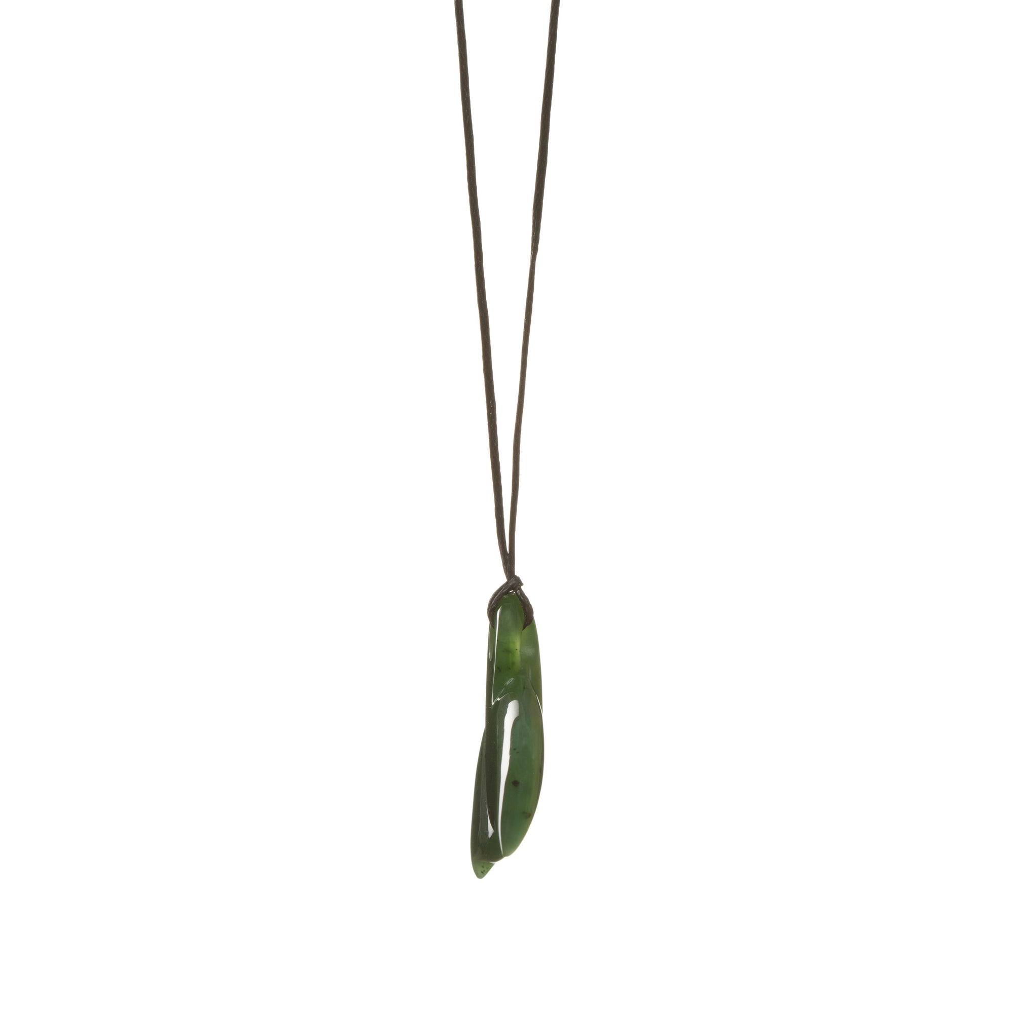 Canadian Jade Whale Tail Necklace