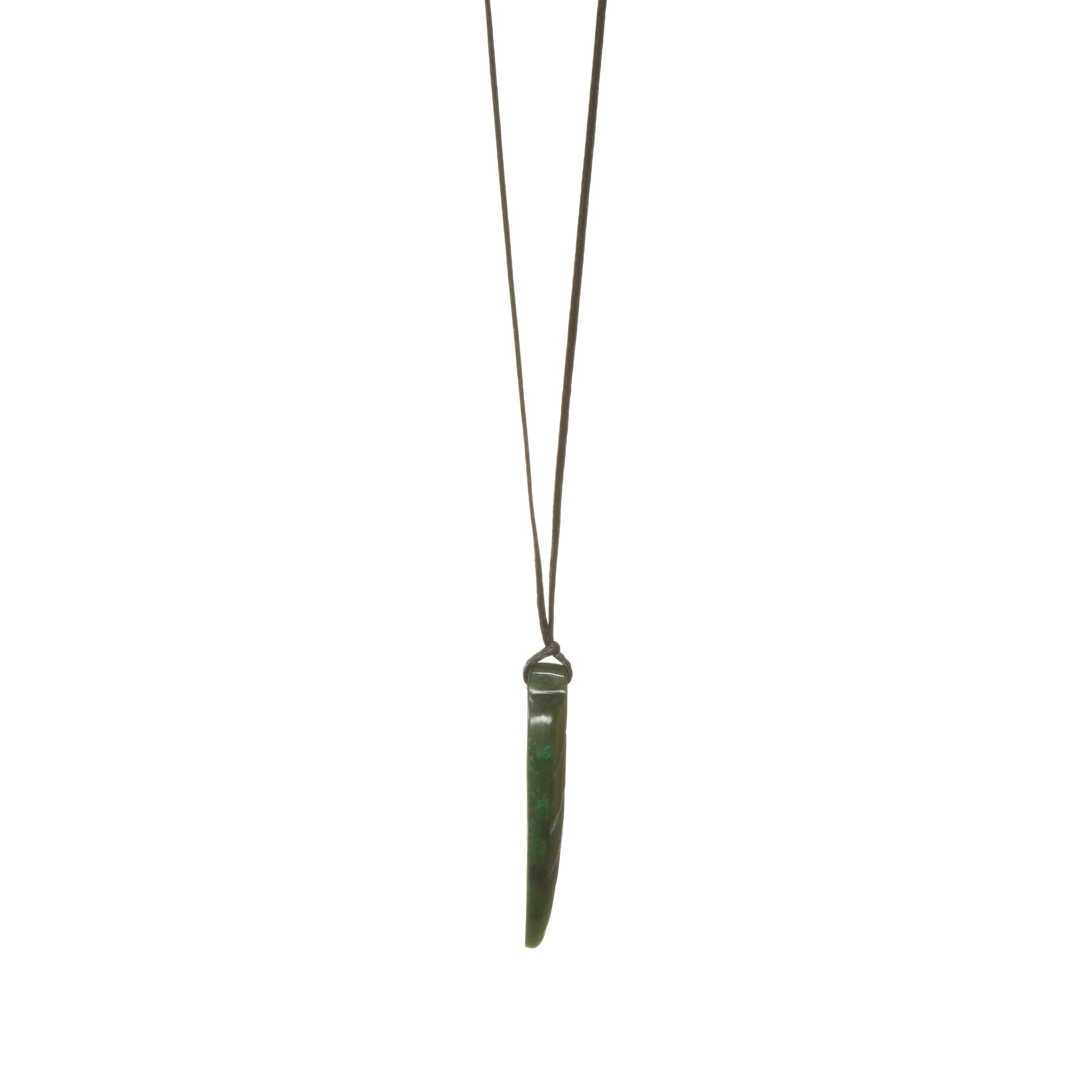 Canadian Jade Small Fern Necklace