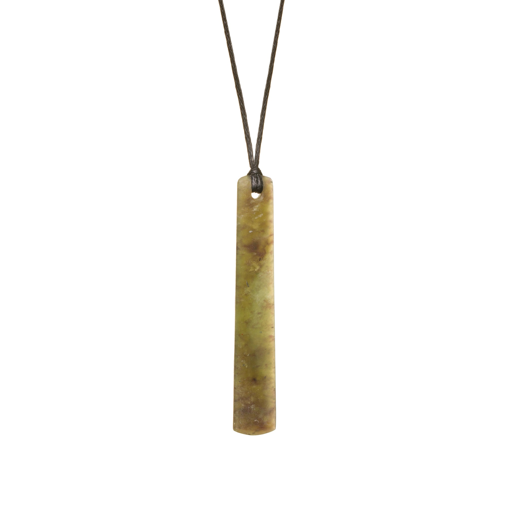 New Zealand Jade Straight Drop Necklace