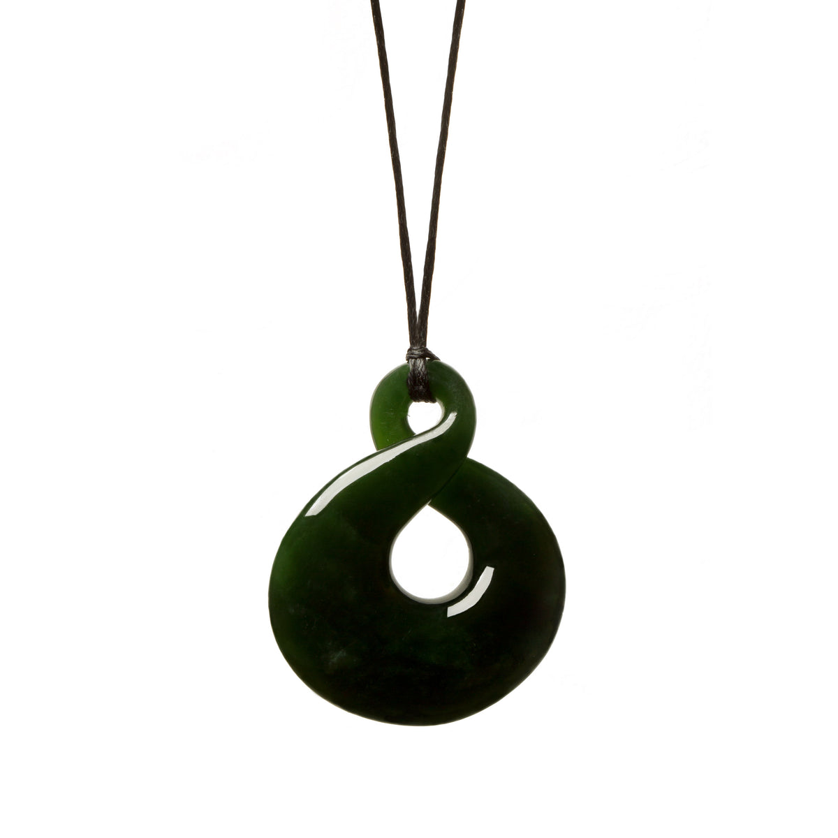 New Zealand Pounamu // JDHWP-8-A / 40mm x 32mm
