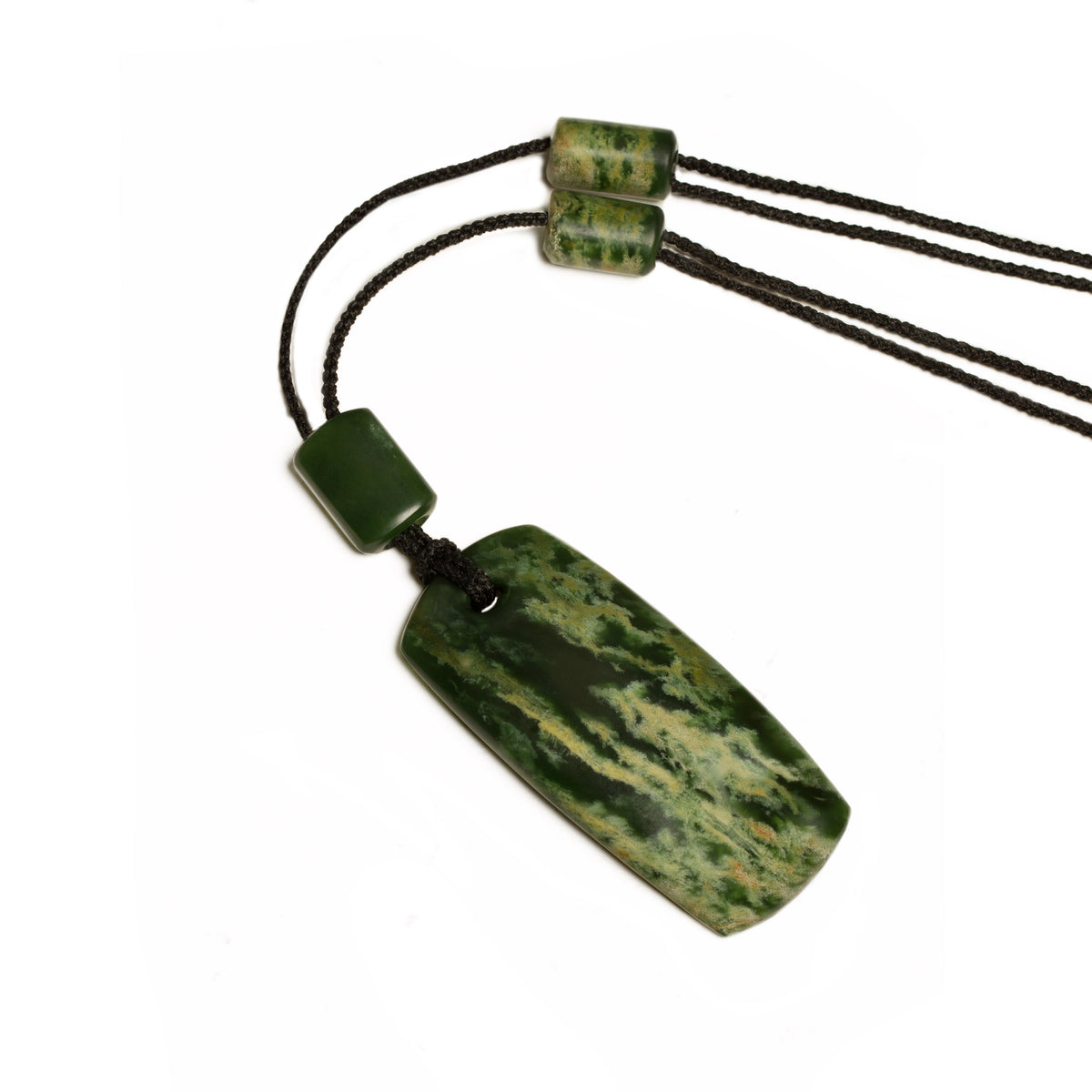 New Zealand Pounamu / 65mm x 30mm