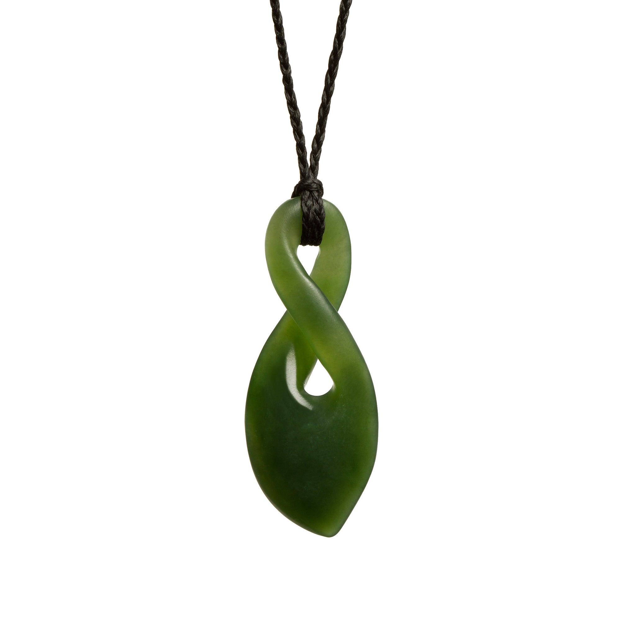 New Zealand Greenstone Single Twist