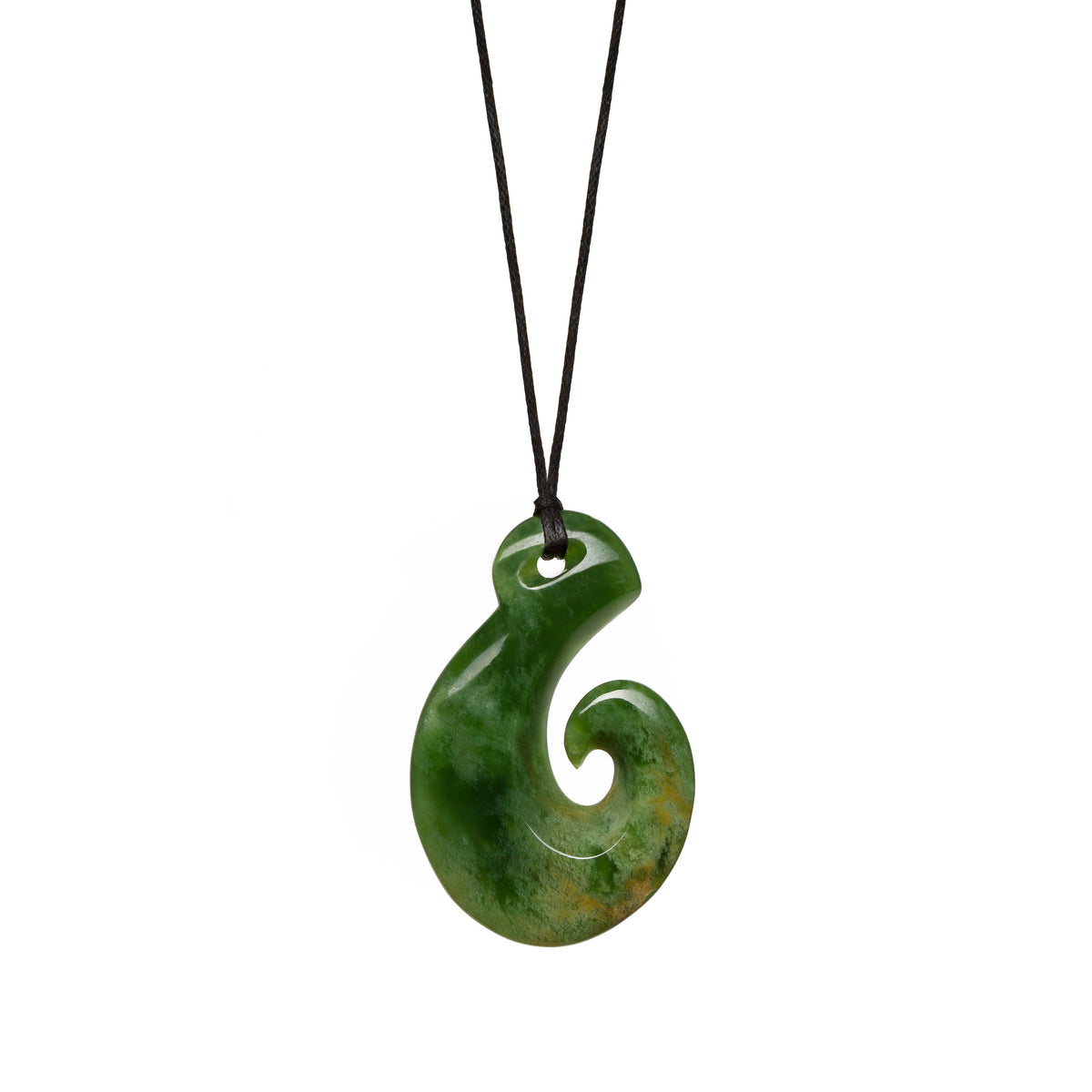 40mm x 26mm / New Zealand Pounamu // LU-H11-F-1