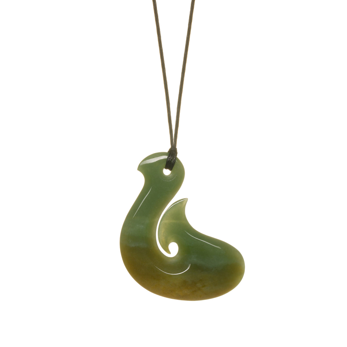 45mm x 32mm / New Zealand Pounamu // LU-H5-468-WIP-1