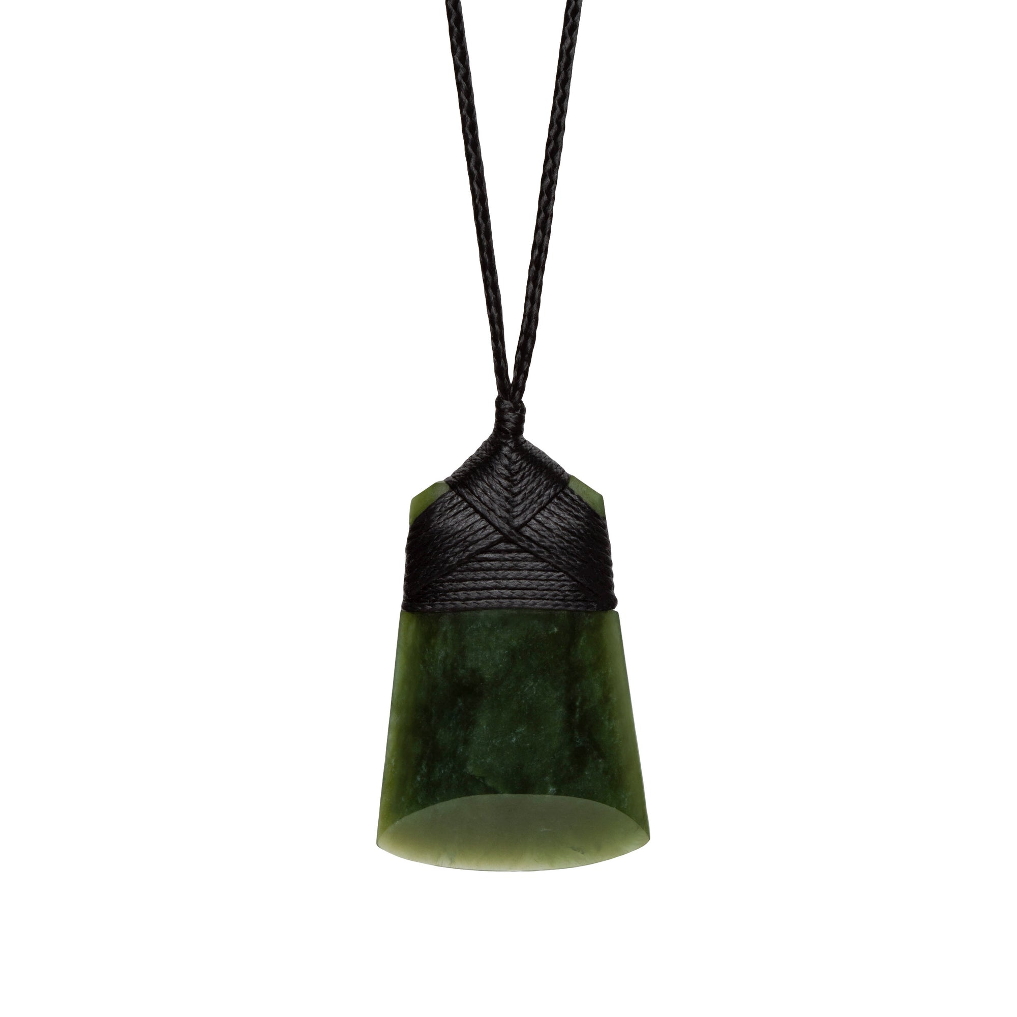 New Zealand Greenstone Toki Necklace