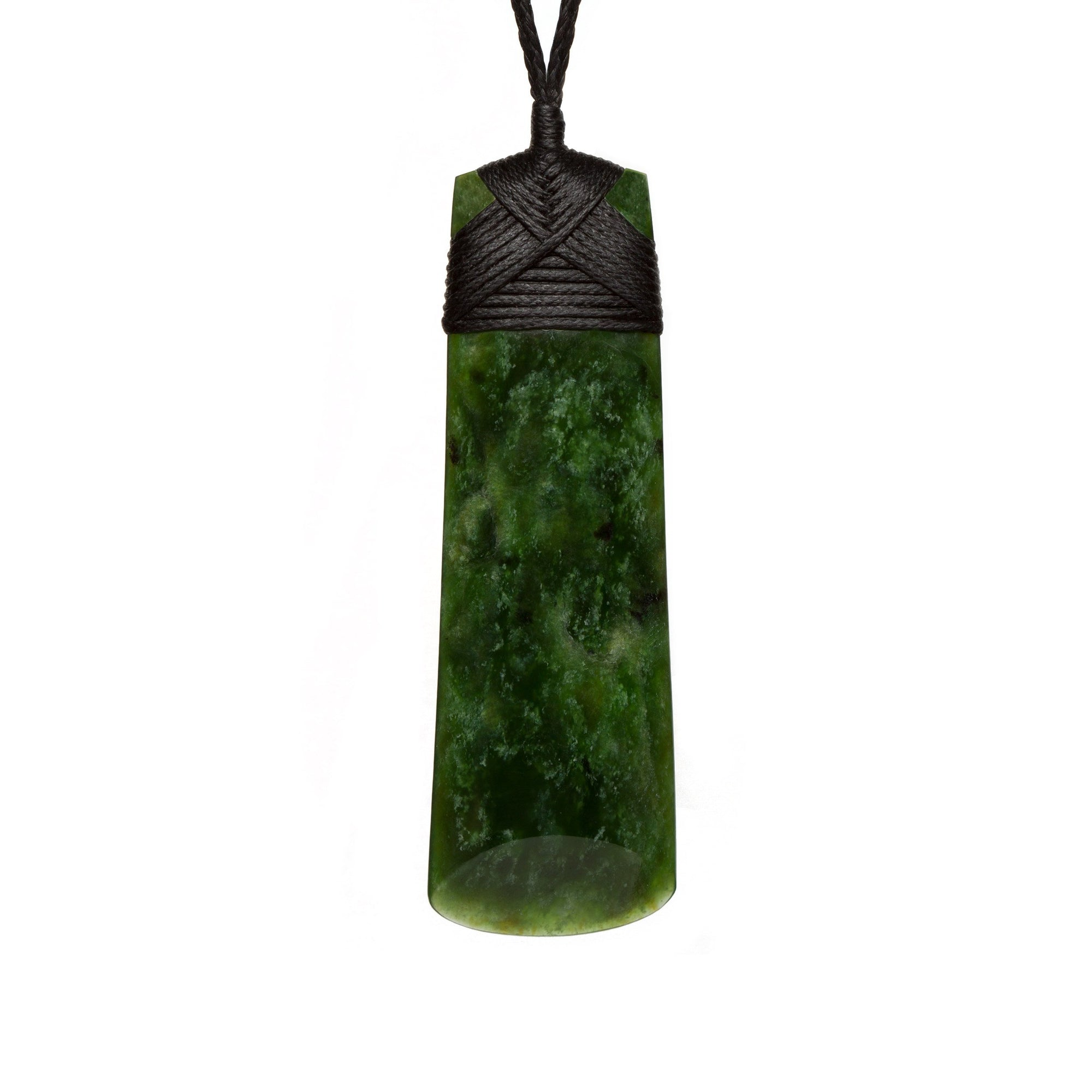New Zealand Pounamu Long Slender Toki