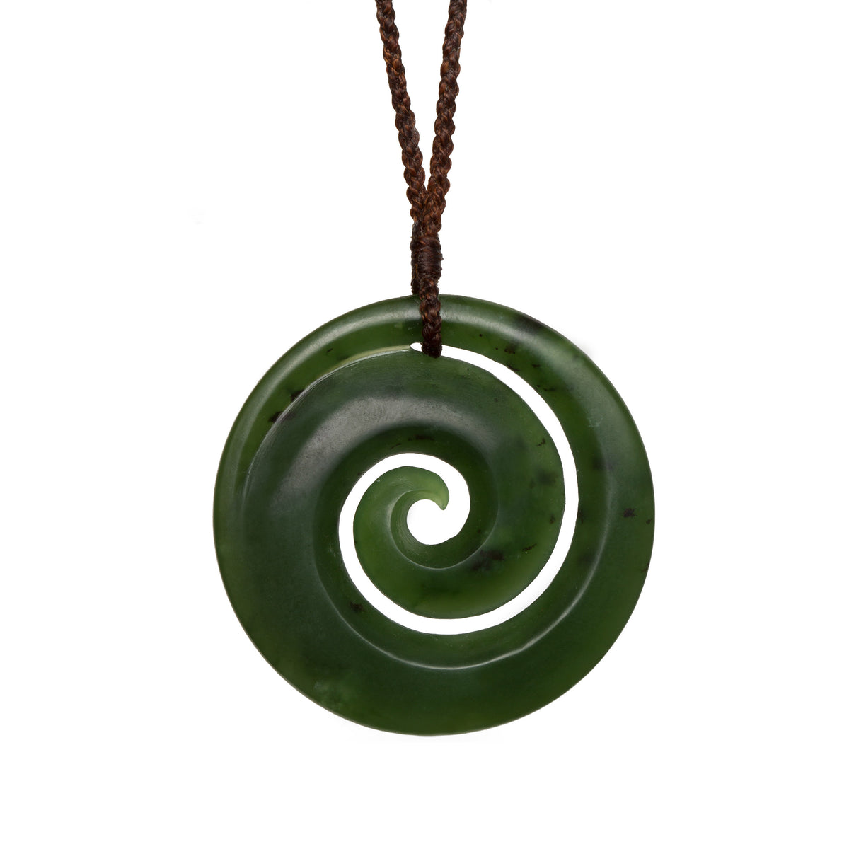 44mm x 44mm / New Zealand Pounamu // RMKO428P-1