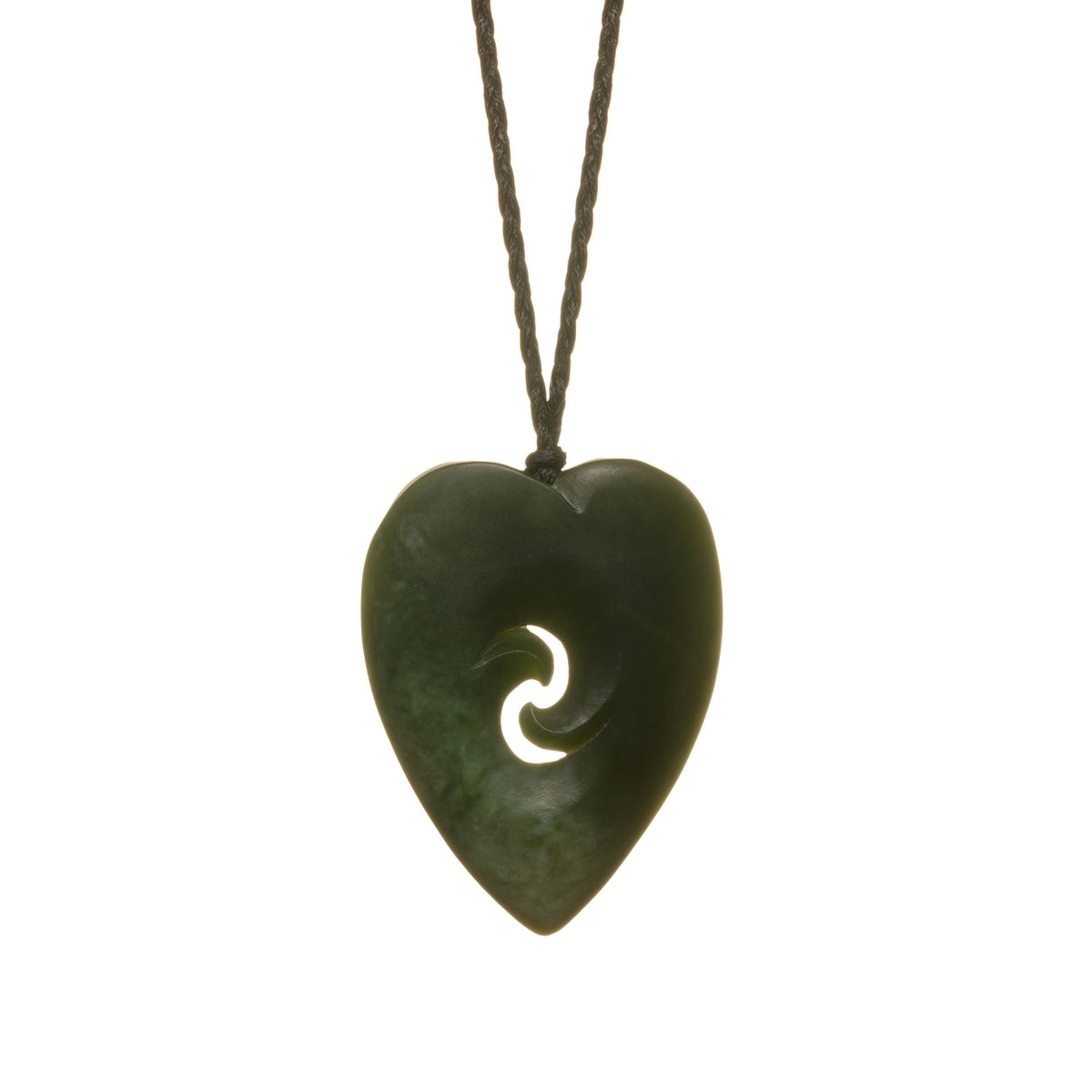 45mm x 35mm / New Zealand Pounamu