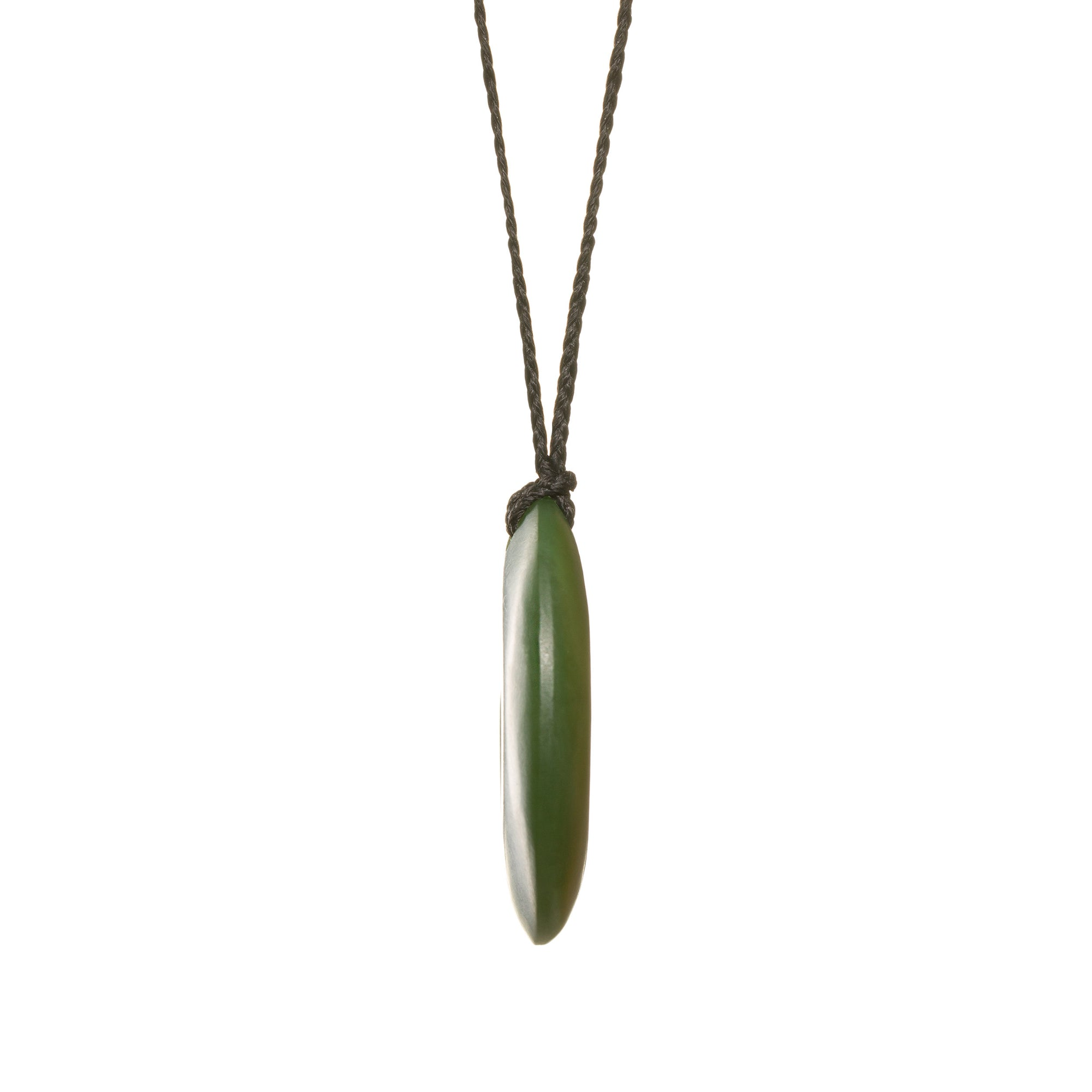 Canadian Jade Open Koru Necklace