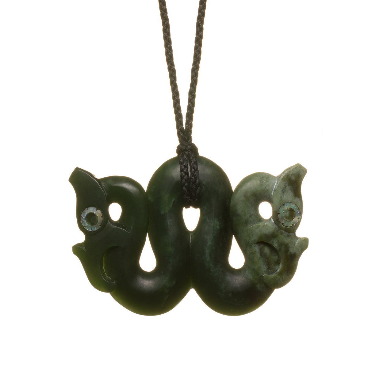 New Zealand Pounamu Double Headed Manaia