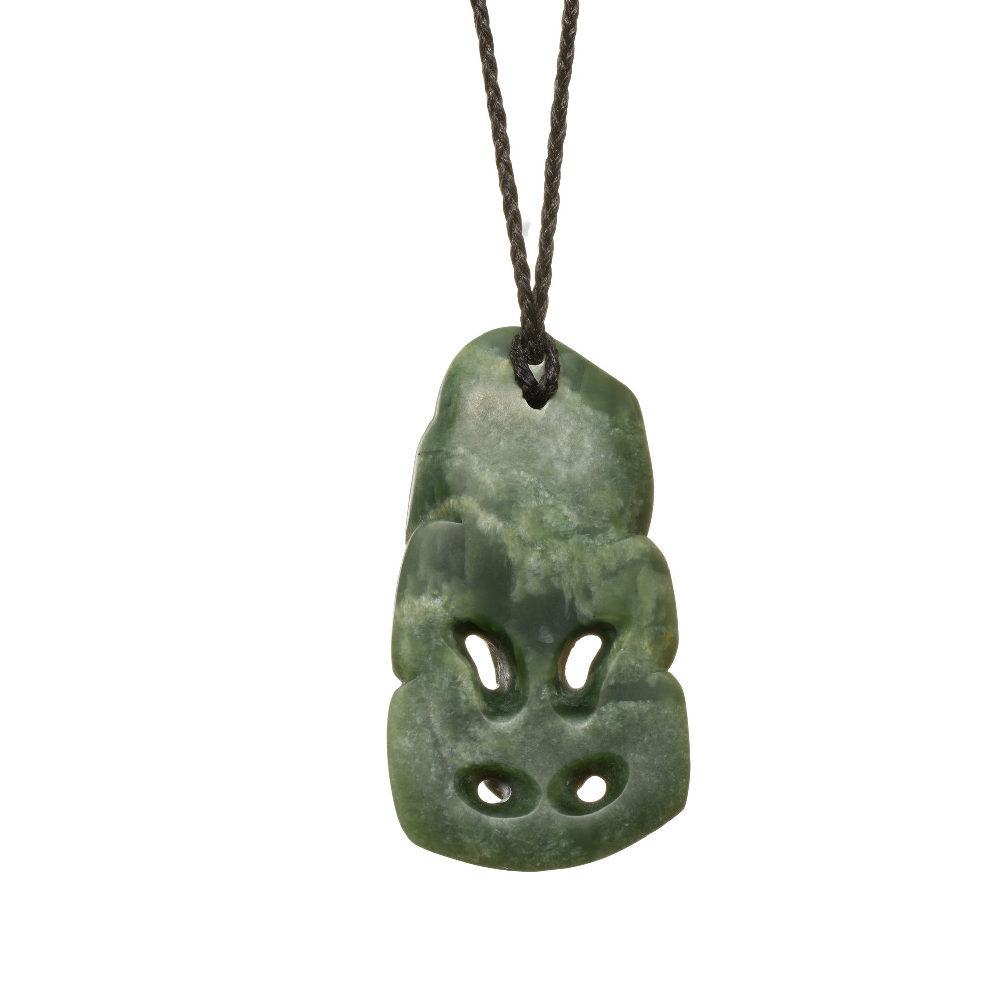 New Zealand Jade Medium Hei Tiki Necklace