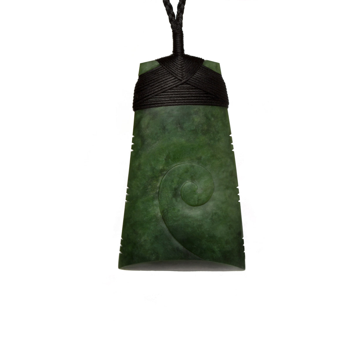 New Zealand Pounamu // TAMATOKO628P / 76mm x 46mm