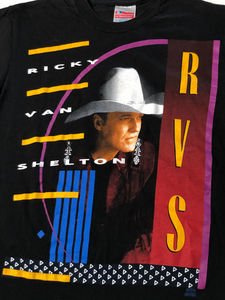 90's Ricky Van Shelton Single Stitch Tee (S/M)