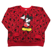 Load image into Gallery viewer, All Over Printed Retro Mickey Mouse Crewneck (S)?