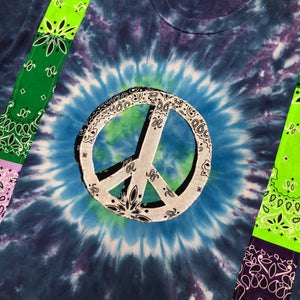 """1 of 1"" World Peace Bandana Tee (XXL)"
