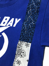 Load image into Gallery viewer, 1 of 1 Tampa Bay Lighting Patchworked Tee (L)