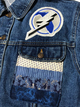 Load image into Gallery viewer, 1 of 1 Tampa Bay Lighting Denim Jacket (M/L)