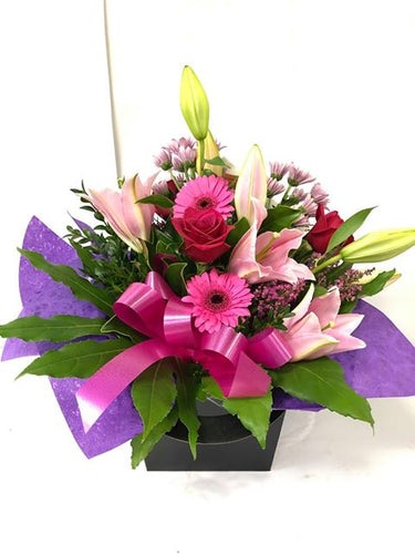 get well, hospital, baby, Birthday, Water box flowers boxes, Anniversary