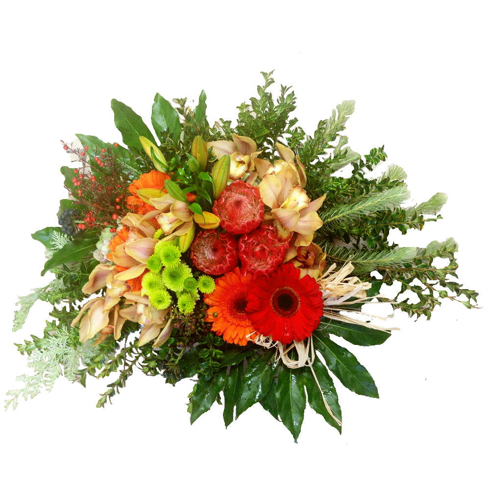 Bright bowl arrangement