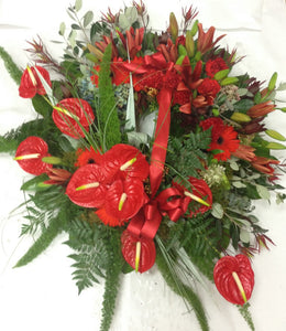 Formal Wreath for Anzac, Sympathy flowers, Funeral, Kiwiana