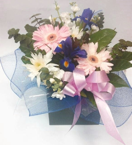 get well, hospital, Retirement, baby, hospital, congratulations, Mothers day, Birthday, Water flowers box