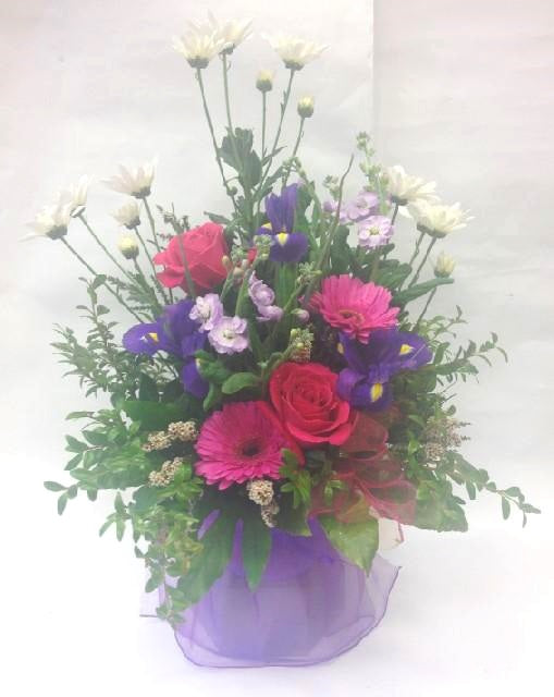 Mothers day, Anniversary, Water flower box,