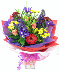 Bright winters day bouquet