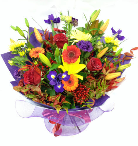 Large Mixed Bright flowers, Bright mixed flowers, Bouquet, Hospital, Birthdays, Anniversaries