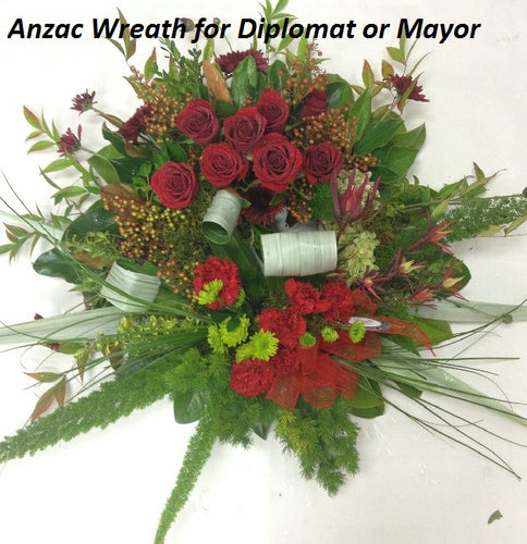 Formal Wreath with Native foliages
