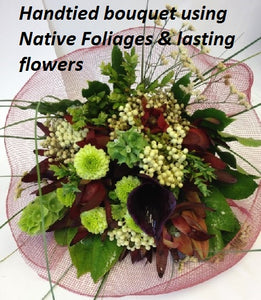 Native bouquet, Whanau, Bouquets, Corporate, Birthday, Sympathy,