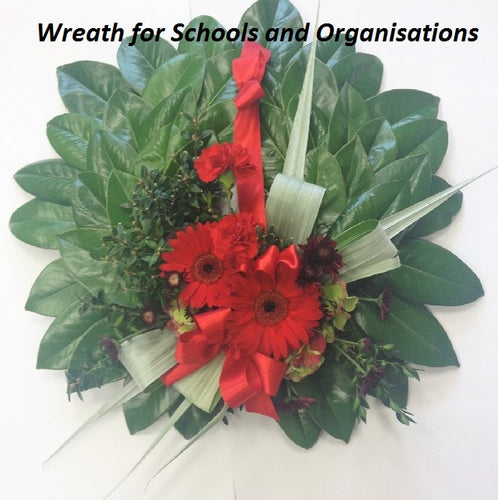 Small Anzac wreath, Sympathy, Funeral