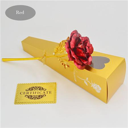 Personalized 24k Gold-dipped Rose.  Show your love.