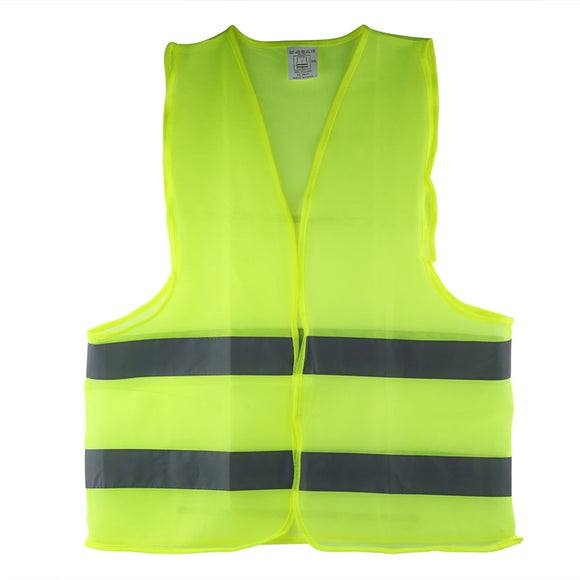 Reflective High Visibility Vest.  Day/Night. Running, Cycling, Warning, Safety Vest.