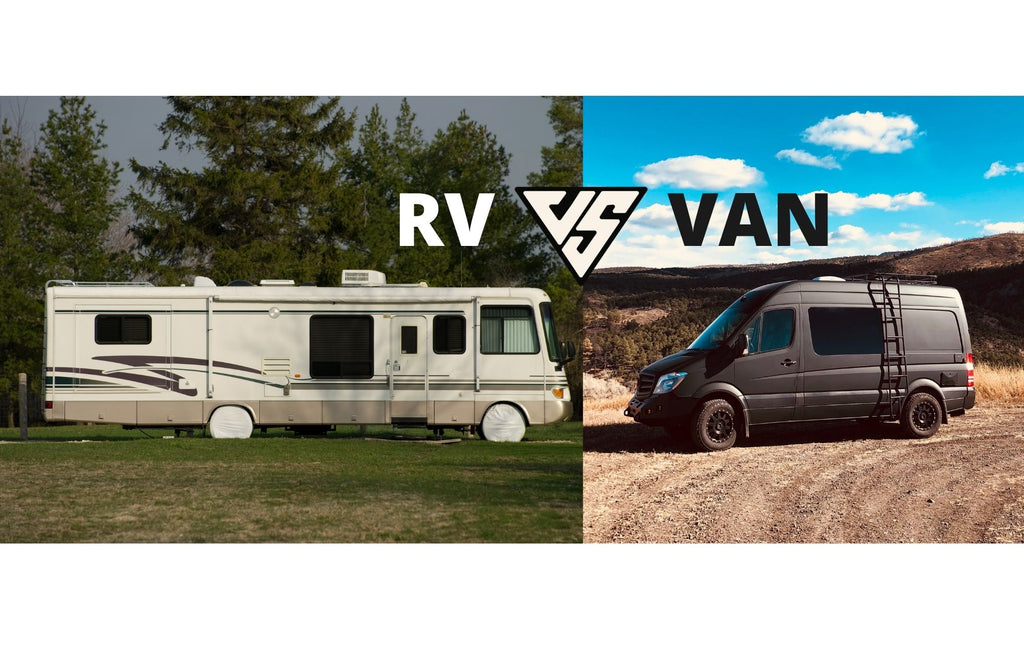 Camper Van Vs. RV