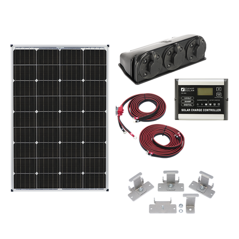 Zamp Solar 115w Roof Mount Kit