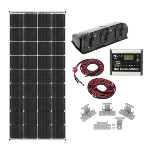 Zamp Solar 170w Roof Mount Kit