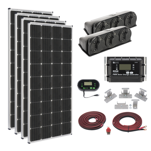 Zamp Solar 680w Roof Mount Kit